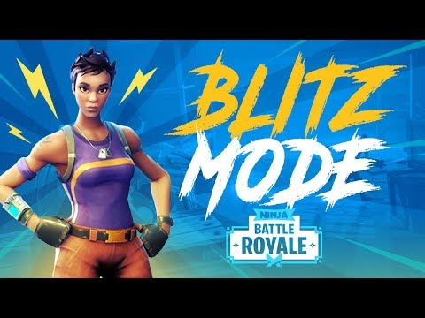 New Blitz! (Squad) Game Mode! - Fortnite Battle Royale Gameplay - Ninja