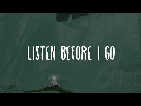 Billie Eilish ~ Listen Before I Go (Lyrics)