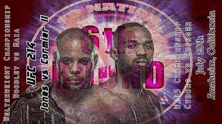 UFC 214: Jones vs. Cormier 2 6th Round post-fight show