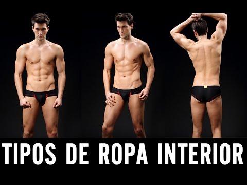TIPO DE ROPA INTERIOR PARA HOMBRES // CORNAMENTA