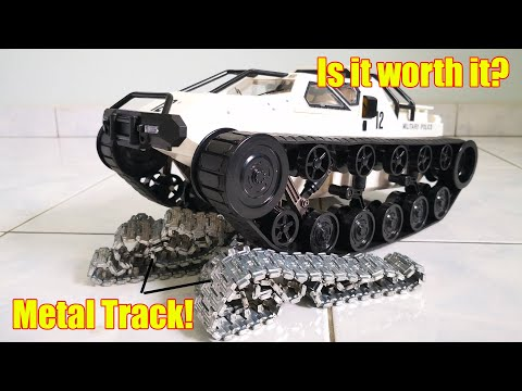 RC Ripsaw Unbox and Review - *with Metal Tracks! SG 1203 RC Drift Tank - Banggood