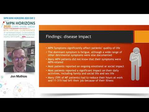 Landmark results for MPN - Jon Mathias, MPN Voice, UK
