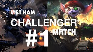 Thách Đấu Việt #1 | SGD Slayer, PVB XuHao, PVB Palette | League of Legends - Magic Of Vayne