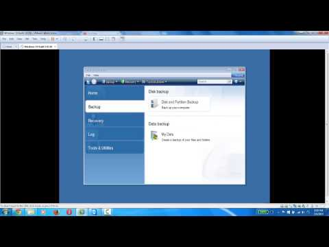 How to backup and restore using Acronis True image