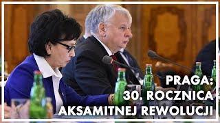 30. rocznica Aksamitnej Rewolucji. Wypowiedź Marszałek Sejmu podczas dyskusji