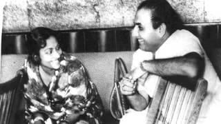 Mohd Rafi, Geeta Dutt - Gaya andhera huaa savera- Karwat