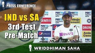 Pant and I have good coordination - Wriddhiman Saha