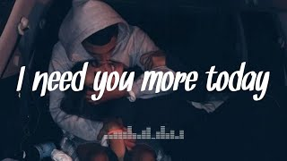 I need you more today - Caleb Santos (Lyrics) Jhamil Villanueva Cover