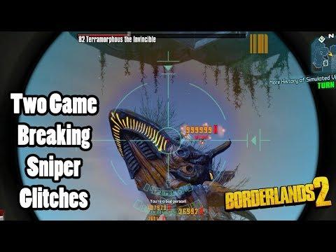 Borderlands 2: 2 Game Breaking Sniper Glitches - Музыка для Машины