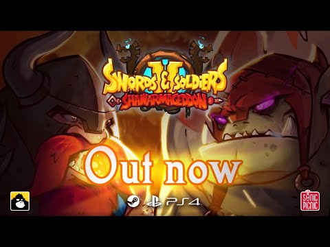 Swords and Soldiers 2 Shawarmageddon release trailer I PC and PS4! (ESRB) thumbnail