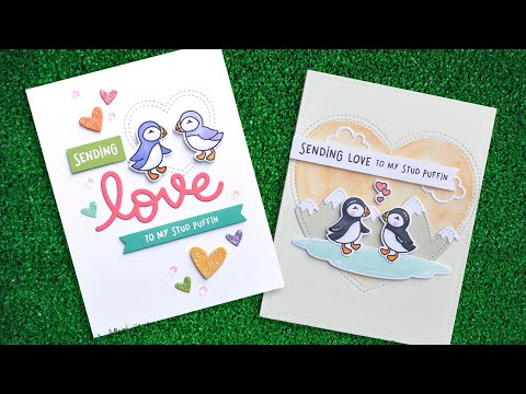Intro to Stud Puffin + 2 cards from start to finish