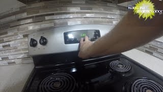 Stove Clock Will Not Reset Screen Says Loc On How To Unlock Locked Oven Display Time
