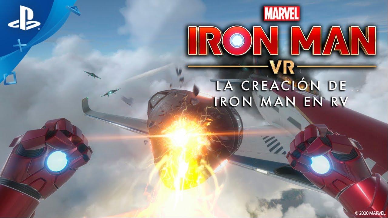 Entre bastidores: La creación de Iron Man en PS RV
