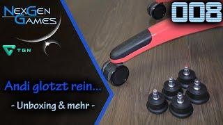 Unboxing und Test / Stuhlgleiter für Laminat / Gamingstuhl / rutschfest (1080p/FullHD) / deutsch