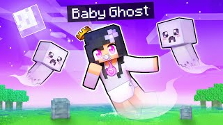 We DIED And Became GHOST BABIES In Minecraft!