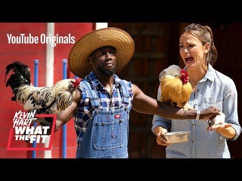 Jennifer Garner Gets Down and Dirty