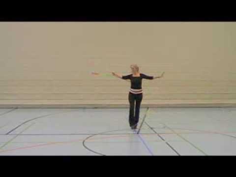 Tanzen mit dem Gymnastikband - für Anfänger