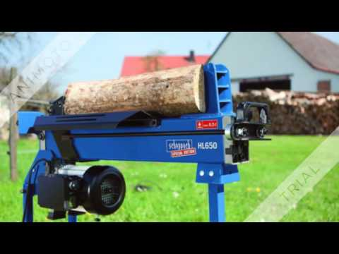 Holzspalter liegend -  Tests - Erfahrungen -