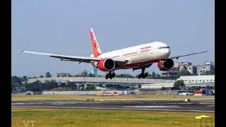 Plane Landings / Arrivals | Close Plane Spotting | Mumbai Airport | 4k UHD Video