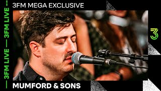 Mumford & Sons plays 'Guiding Light', 'Woman', 'Wild Heart', 'Only Love' & more | 3FM Live | NPO 3FM