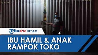 Ibu Hamil dan Anaknya Nekat Rampok Toko Sembako di Malang, Gasak Uang Rp200 Juta