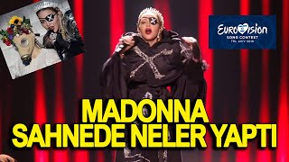 MADONNA LIVE LUCIFER RITUEL IN EUROVISION ISRAEL OMG!!