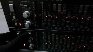 TECHNICS SH-8075 テクニクス ステレオ グラフィック イコライザー
