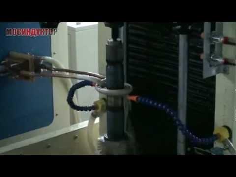 Индукционная закалка вала d50 mm на ИЗС