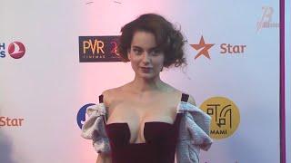 Kangana Ranaut Delightful Look In Beautiful Dress At A Bollywood Event