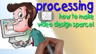 how to make video design sparcol,,how to create