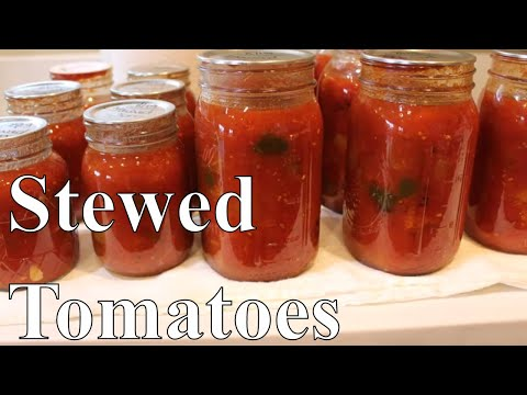 Canning Stewed Tomatoes And Vegetables With Linda's Pantry