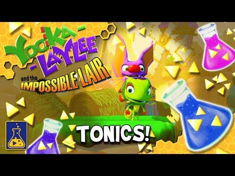 Yooka-Laylee and the Impossible Lair: Tonics thumbnail