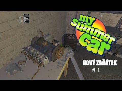 My Summer Car | #1 Nový začátek [CZ/1080p/60FPS]