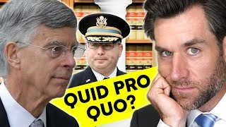 Quid Pro Quo?  Taylor and Vindman testify (Real Law Review)