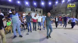 الفنان علاء الجلاد دبكة مجوز ناري سهرة العريس محمود ابو حرب مخيم نورشمس T Aljabaly2019