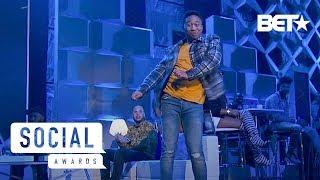 Shiggy, Kid The Wiz, DanRue & More Perform the Best Dances of 2018 | Social Awards 2019