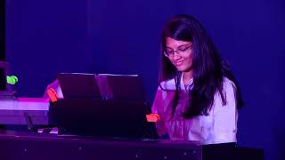 Chandni on Piano - Pavo School of Music (Thiruvanmiyur, Velachery, Adyar, Perungudi)