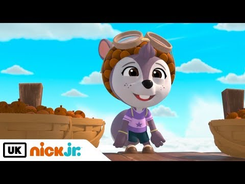 Top Wing | Shirley's Nutty Vacation | Nick Jr. UK