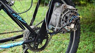 Electric Bike From Car Parts / Homemade E-bike / DIY