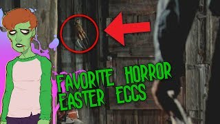 Top 5 Horror Film Easter Eggs! | THE GHOULOG