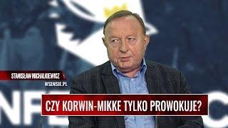 CZY KORWIN-MIKKE TYLKO PROWOKUJE? Michalkiewicz: To człowiek, który nie zmienił poglądów od 40 lat