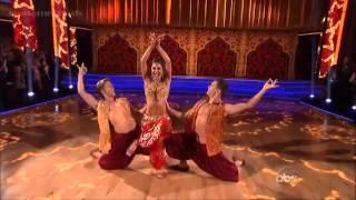 DWTS 2012  Maria Menounos ,Derek Hough ,featuring Henry Byalikov -Trio - Samba