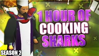 Cooking Sharks | Testing OSRS Wiki Money Makers | Money Making Guide 2021