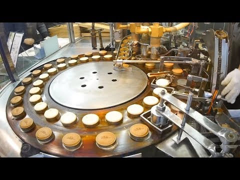 Automatic Cake Processing Machines Inside The Cake Factory - Fruitcake, Doughnuts, Cheesecakes