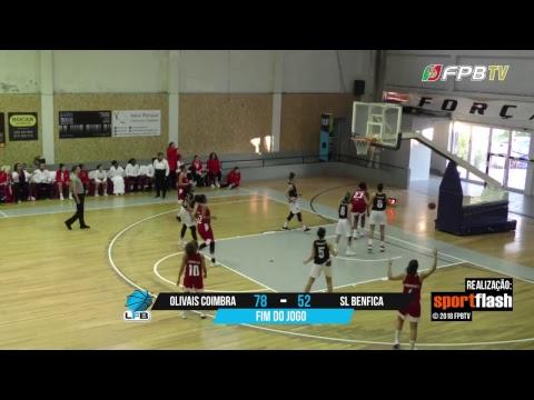 Liga Feminina - Jornada 14 - OFC x SL Benfica (12-01-2019)