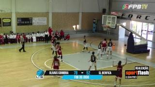 Liga Feminina   Olivais Coimbra - SL Benfica