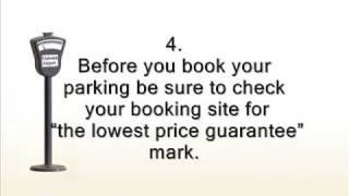 Cheap airport parking tips