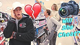 HIDDEN CAMERA ON GIRLFRIEND AND BROTHER! *ALONE*
