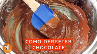 #11 - Derreter Chocolate