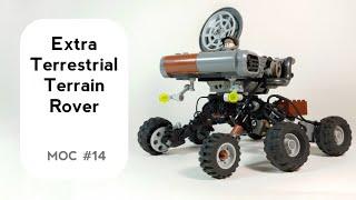 Sci-Fi Rover LEGO MOC - #Lego #Sci-fi #LegoMOC